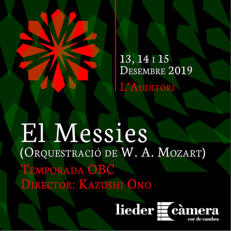 Messies Messiah Haendel OBC L'Auditori